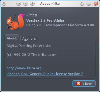 Krita New Icon