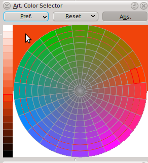 Art Color Selector